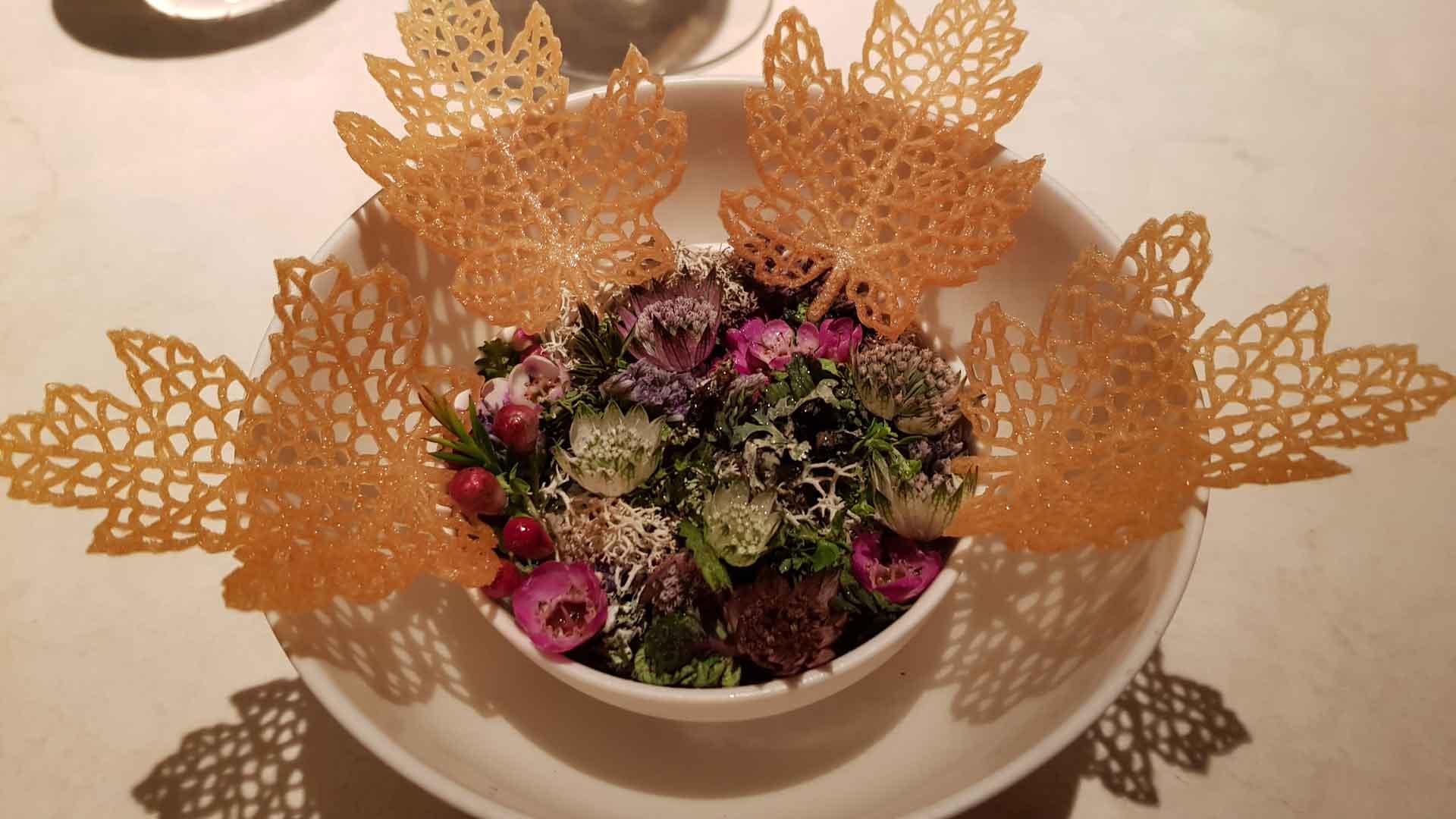 vakker mat på romantisk weekend