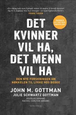 omslag for Det kvinner vil ha, det menn vil ha, av John Gottman