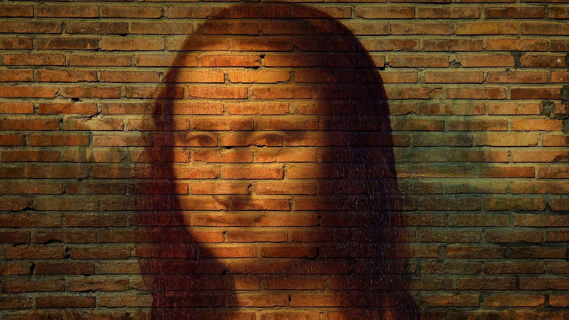 Mona Lisa på murvegg, kunst