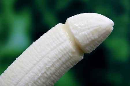 banan i form av penis, sexologi